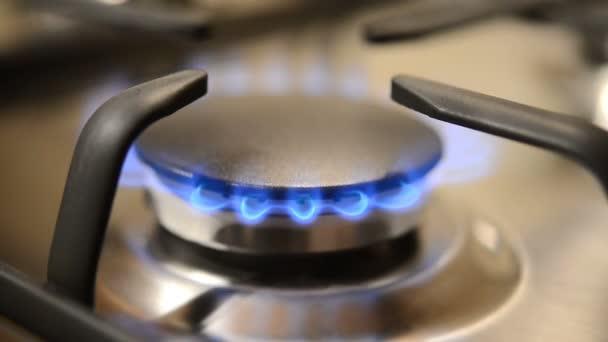 Plynový plamen kuchyň