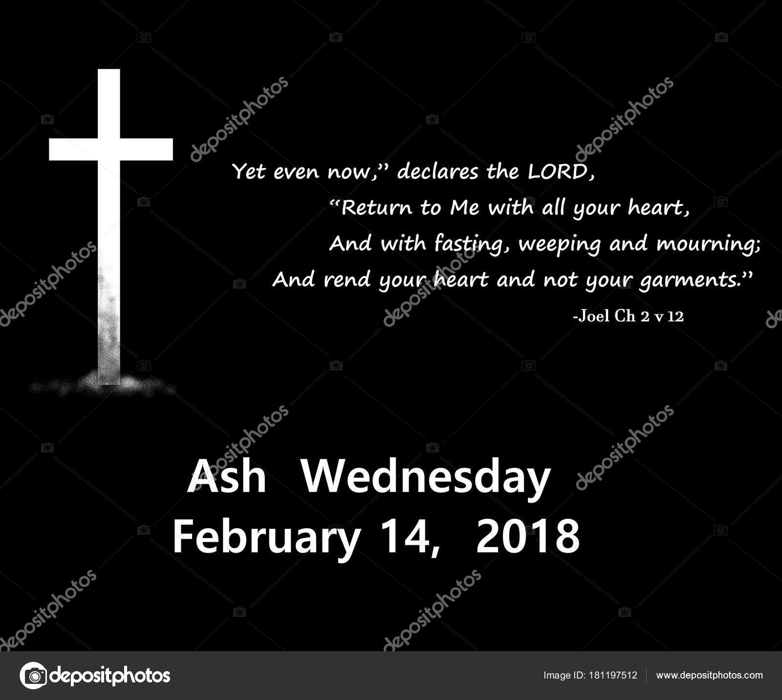 2018 ash wednesday date icon lent quote book joel stock photo 2018 ash wednesday date icon lent quote book joel stock photo buycottarizona