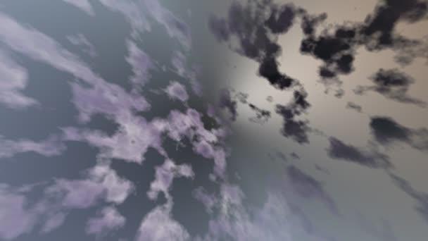 abstraktní pozadí fialové a černé mraky