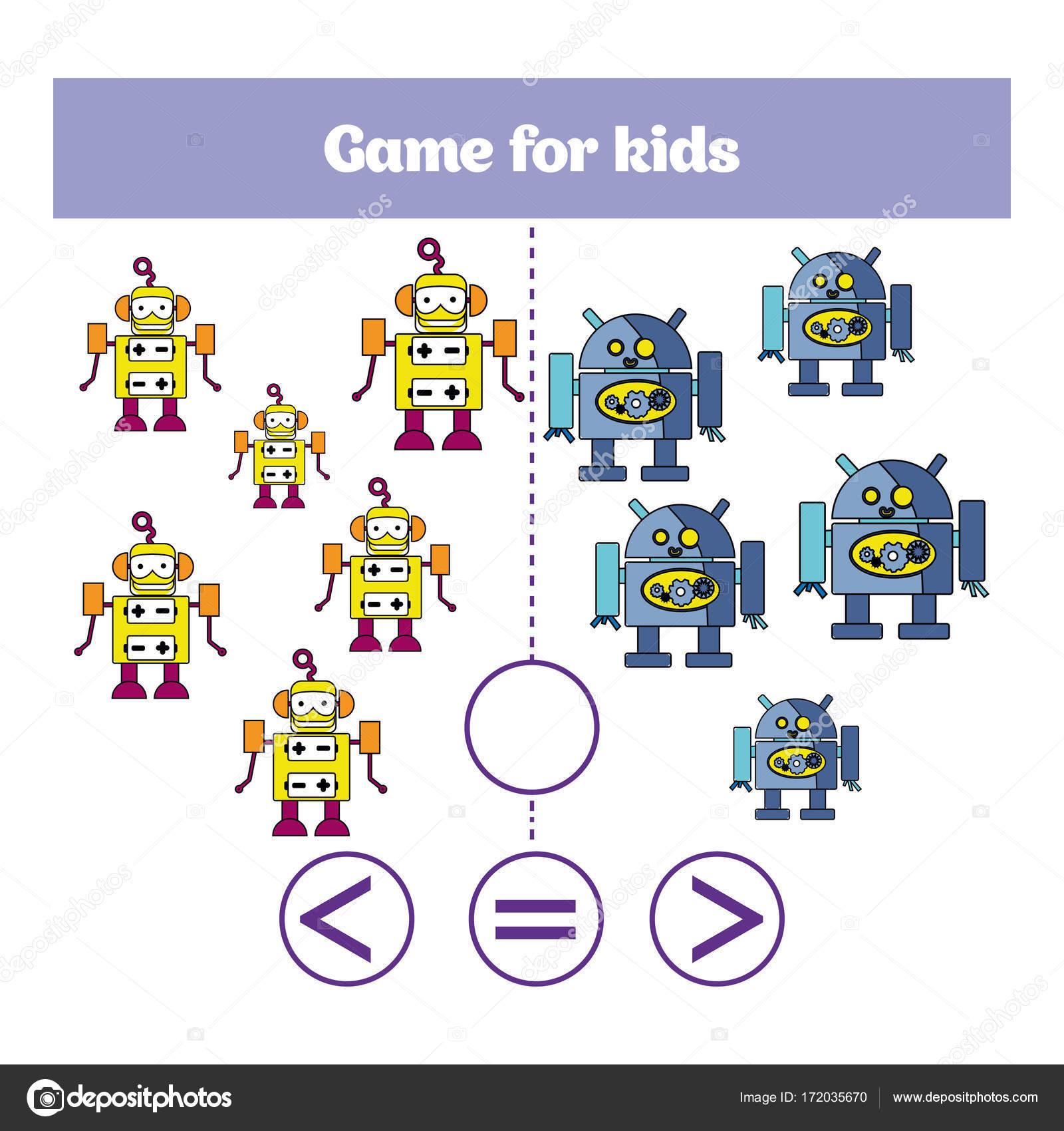 Bildung-Logik-Spiel für Kinder im Vorschulalter. Wähle die richtige ...