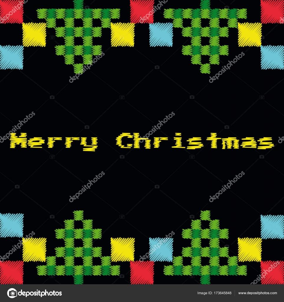 Dessines A La Main Joyeux Noel Bonne Annee 2018 Hiver Carte De Vœux