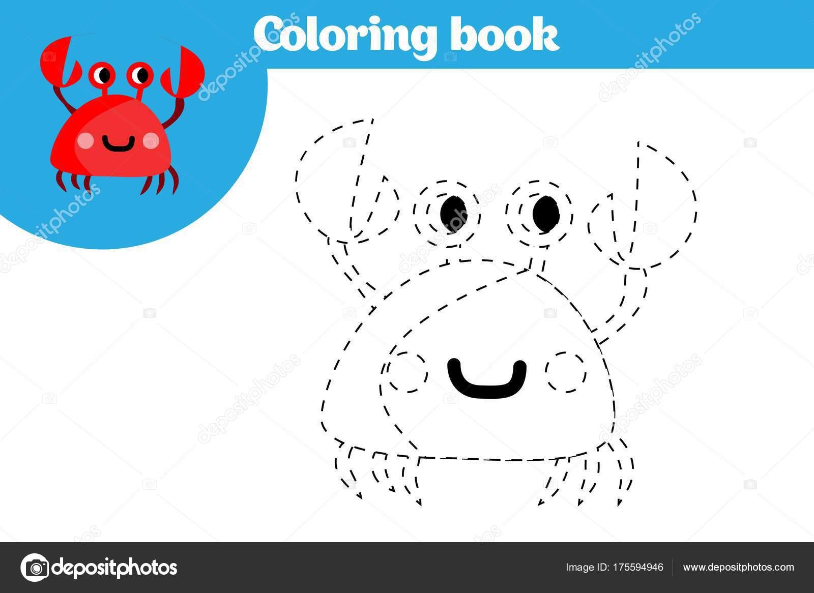 Página para colorear, educación para los niños. Página para colorear ...