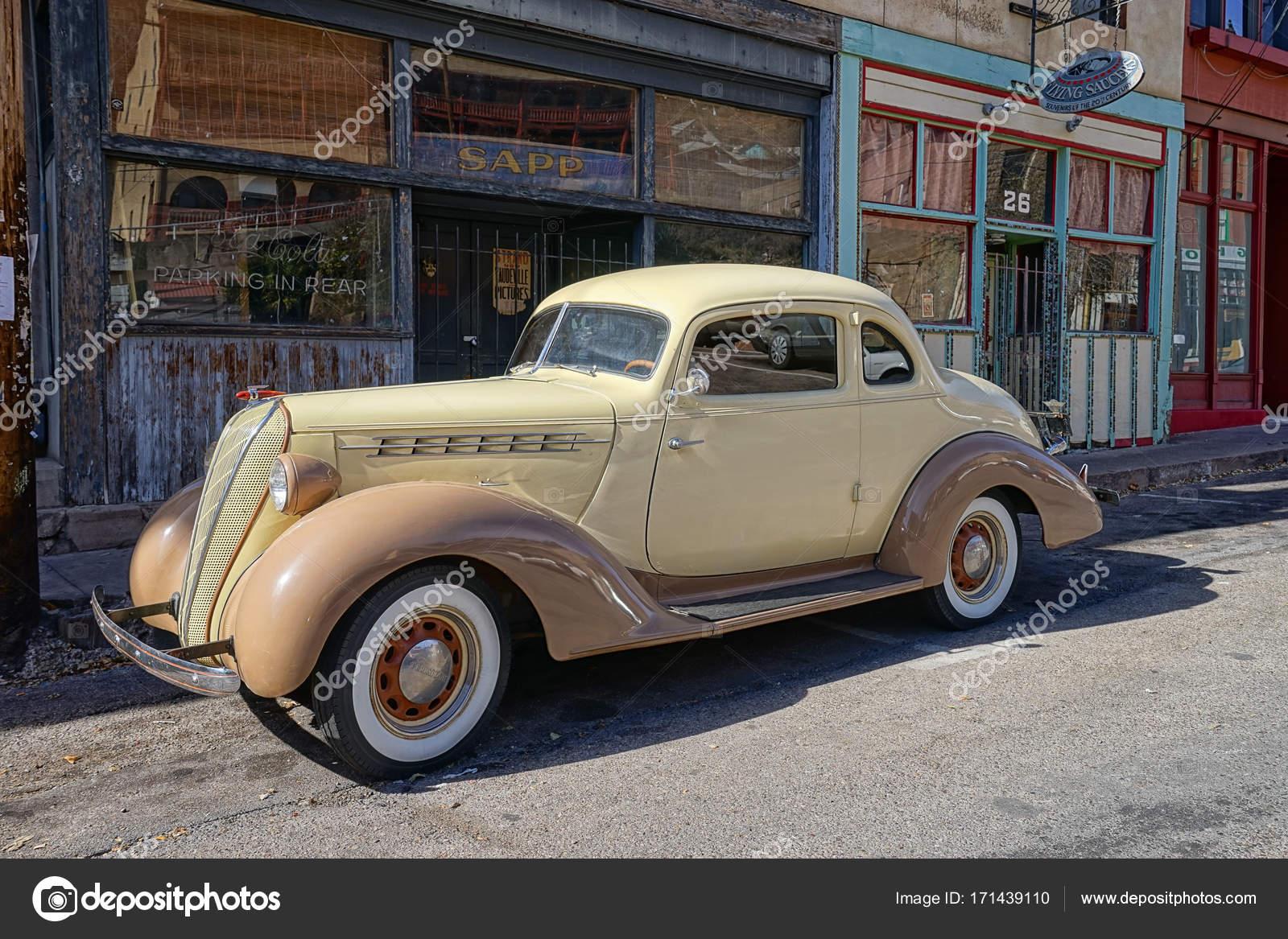Vintage Car In Bisbee Arizona Stock Editorial Photo Quasarphoto - Bisbee car show