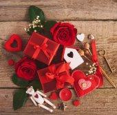 Fotografie valentinky den pozadí