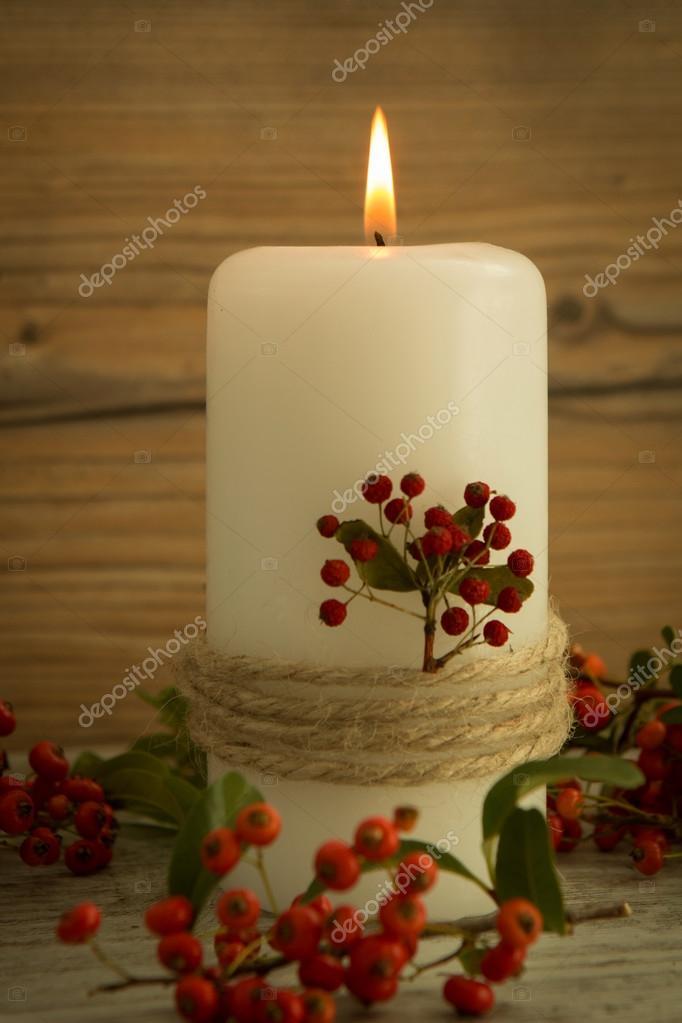 Elegantes velas decoradas para navidad foto de stock gelpi 126521276 - Velas decoradas para navidad ...
