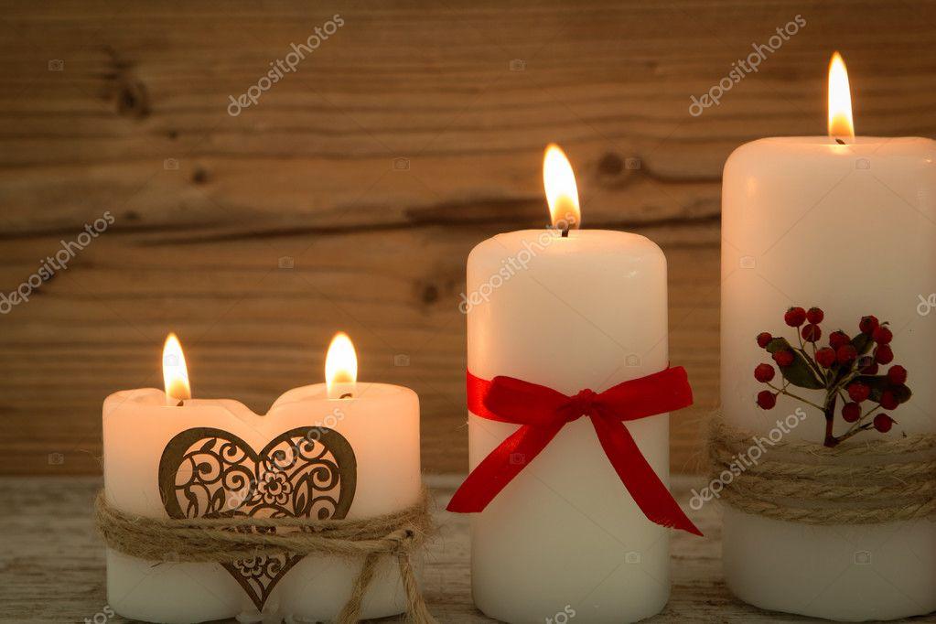 Elegantes velas decoradas para navidad foto de stock gelpi 126734760 - Velas decoradas para navidad ...