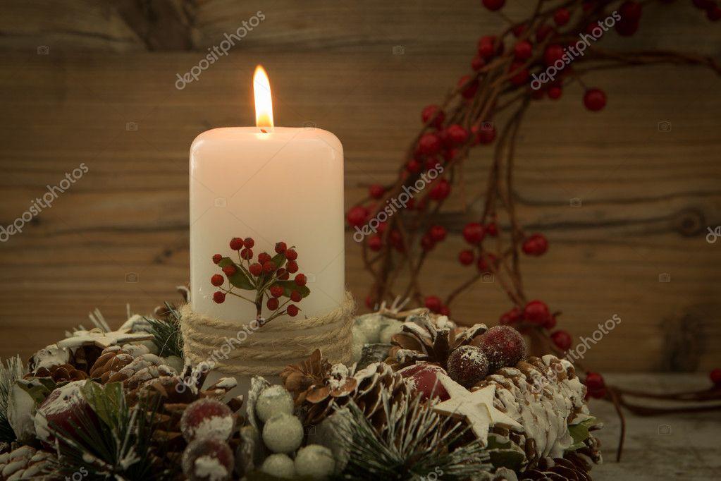 Elegante centro de mesa para la mesa de navidad foto de stock gelpi 126734784 - Mesa de navidad elegante ...