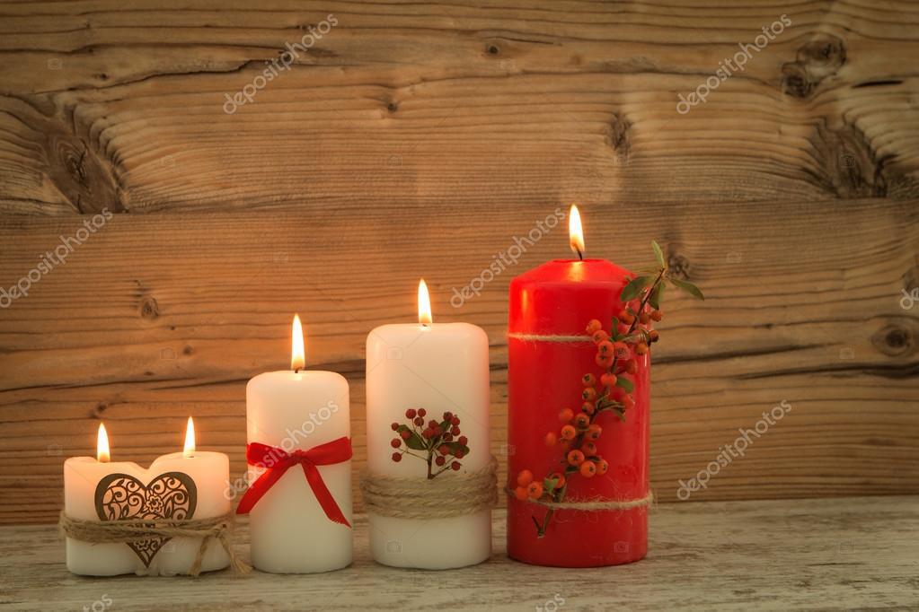 Elegantes velas decoradas para navidad foto de stock gelpi 126734960 - Velas decoradas para navidad ...