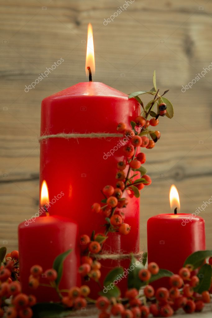 Elegantes velas decoradas para navidad foto de stock gelpi 126735002 - Velas decoradas para navidad ...