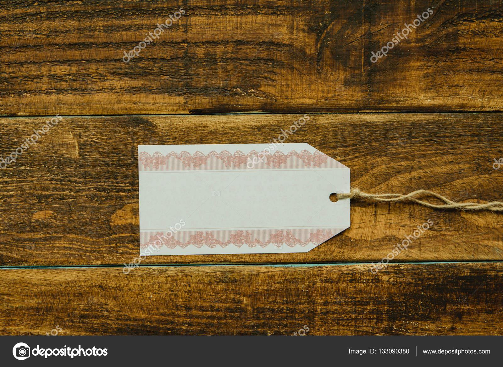 Leerer Warenkorb Tag-Vorlage — Stockfoto © Gelpi #133090380