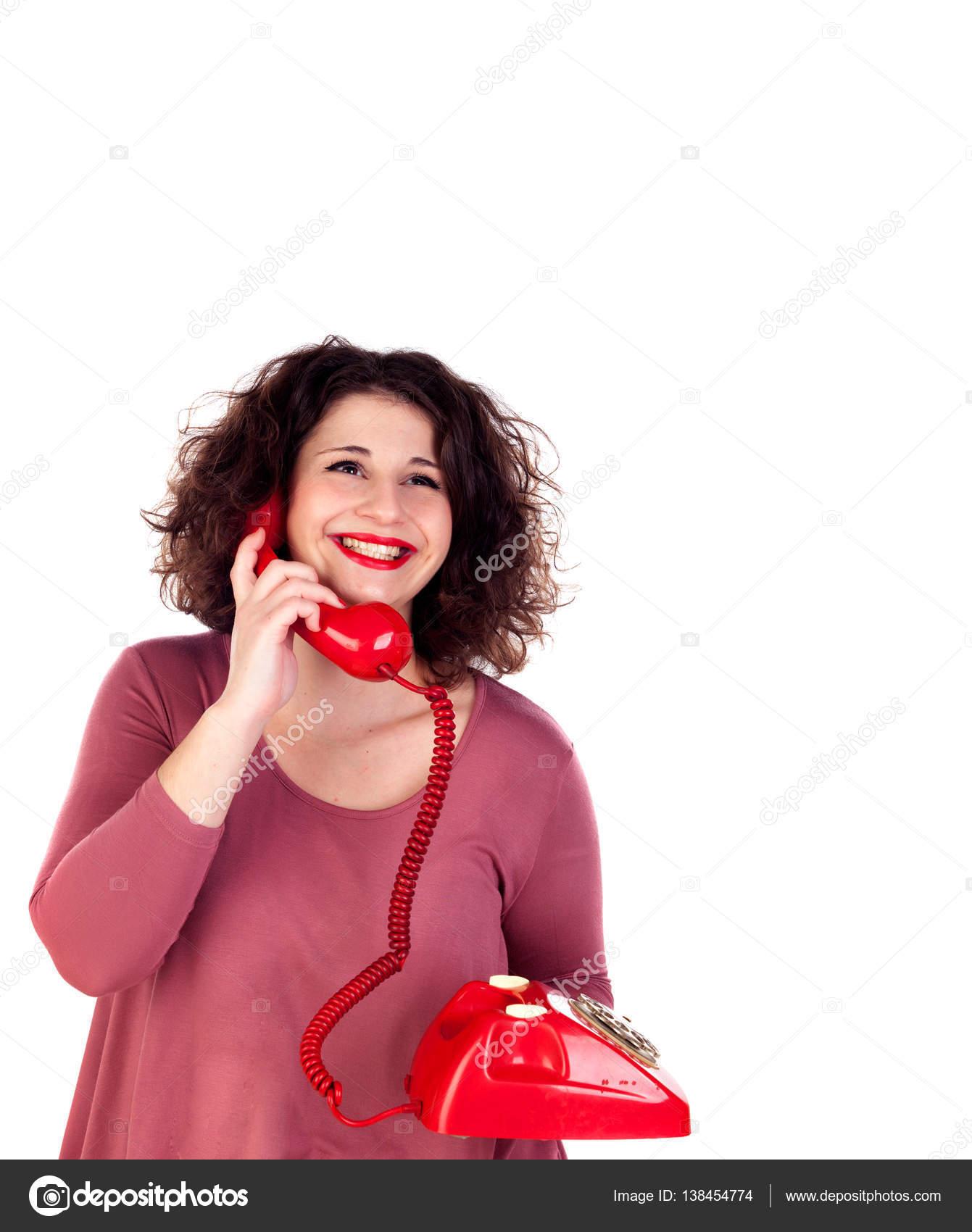 7c482e2ca4bec3 милі дівчата пишні — Стокове фото — червоний © Gelpi #138454774