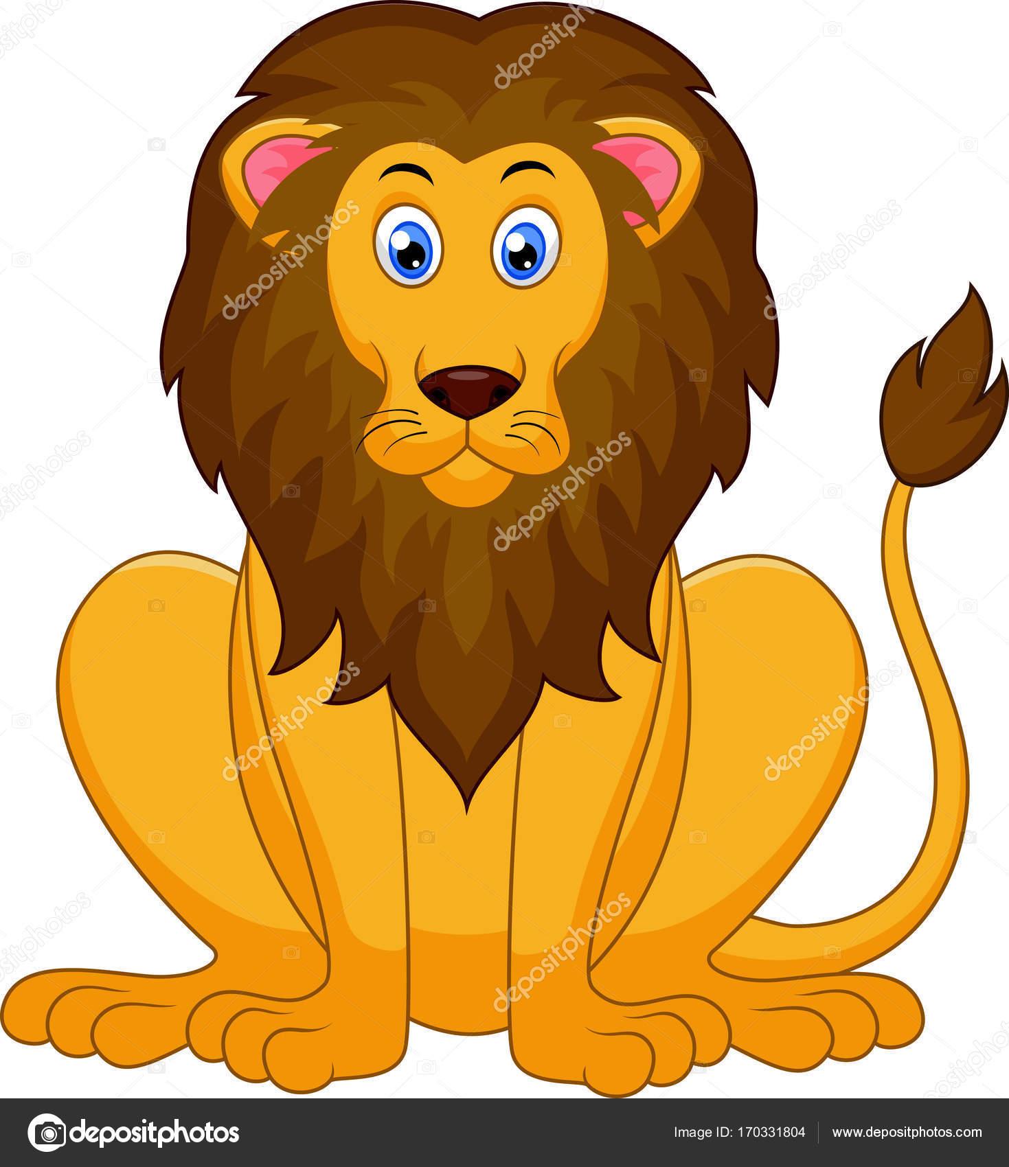 Dibujos Del Rey Leon En Color De Dibujos Animados Lindo León