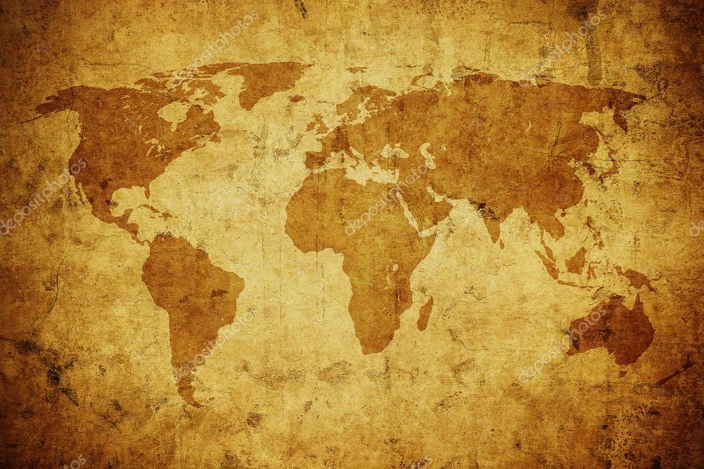 Grunge world map background stock photo javarman 128328712 grunge world map background stock photo 128328712 gumiabroncs Gallery