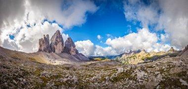 Three peaks. National Park Tre Cime di Lavaredo.