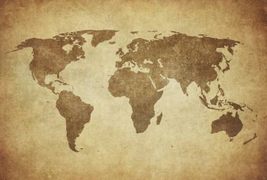 historical map of world
