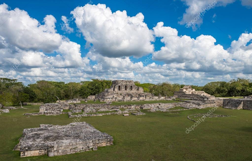 Mayapan ancient ruins