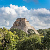 Pyramid of the Magician in Uxmal