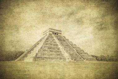Temple of Kukulkan pyramid