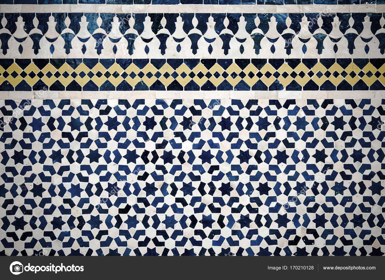 Piastrelle marocchine sfondo u2014 foto stock © javarman #170210128
