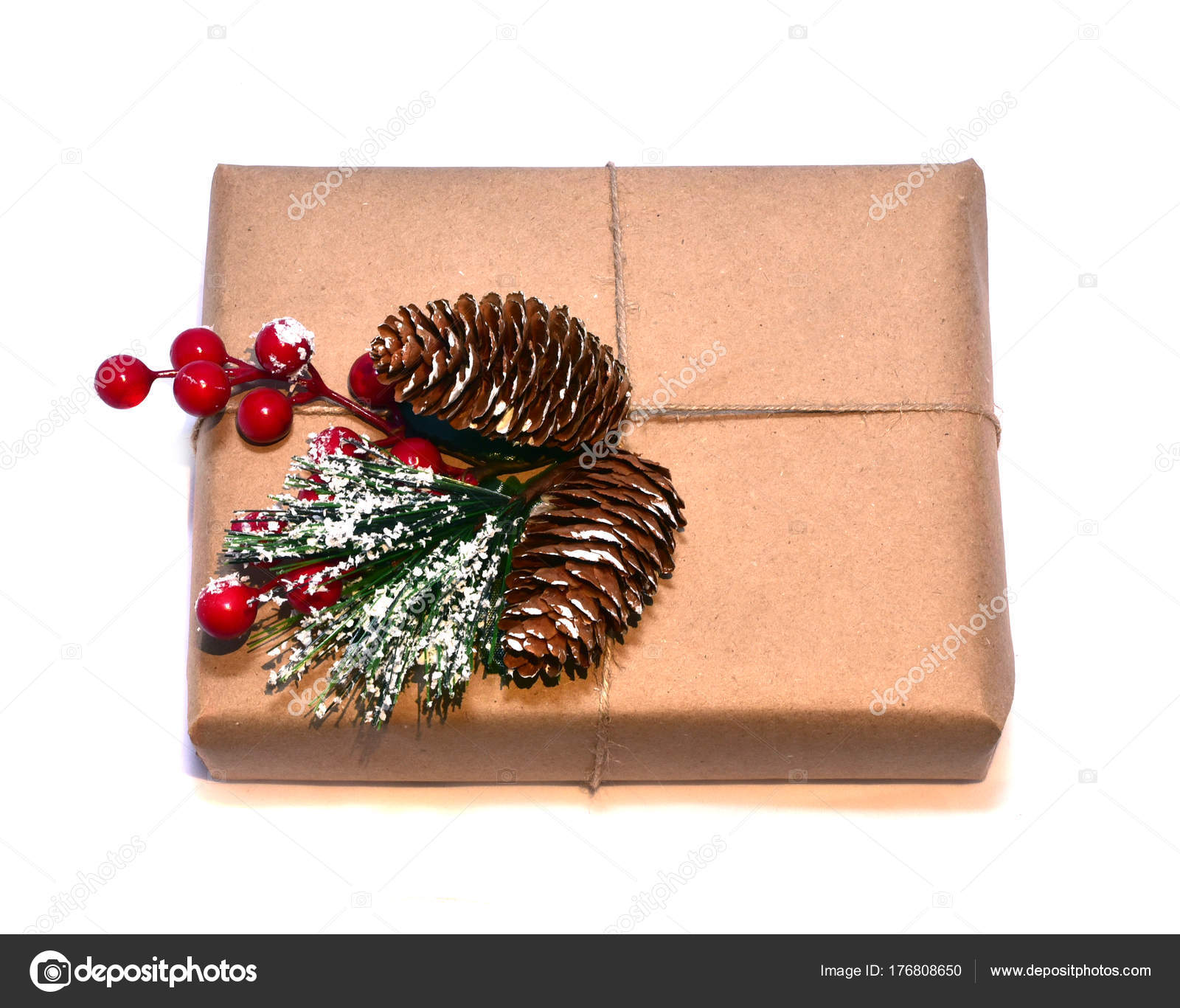 Beautifully Wrapped Christmas Gifts — Stock Photo ...