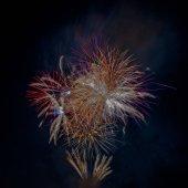 Tűzijáték show Londonban