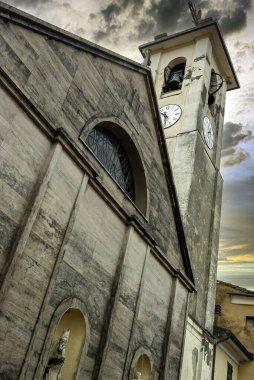 Church of St. Bartholomew (Parrocchia di San Bartolomeo) in La Spezia, Cinque Terre, Liguria, Italy on 23 September 2019