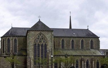 Chapel of the Brothers of La Mennais (Chapelle des Freres de La Mennais)  in Ploermel, Brittany, France on 30 May 2019