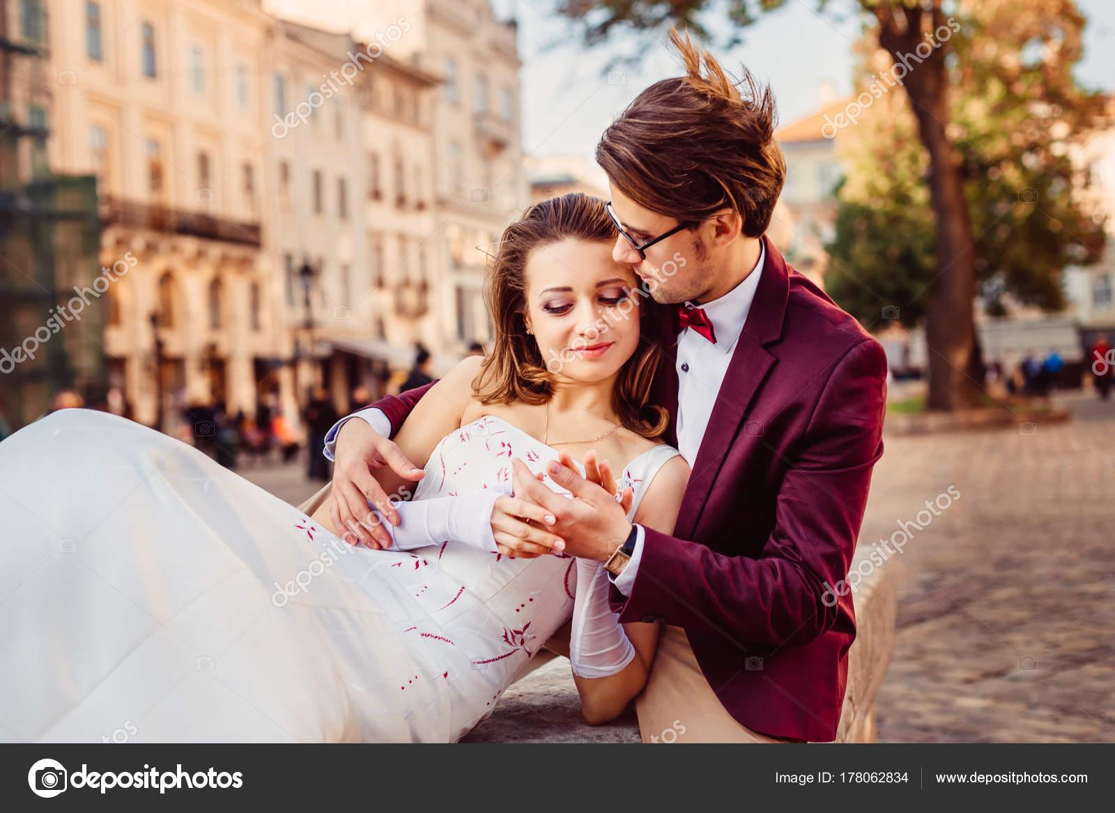 Chico vestido de novia