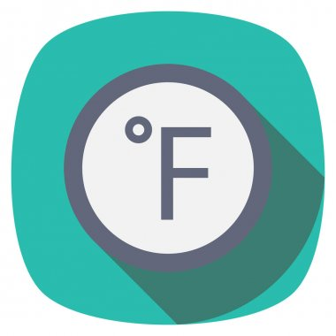 Weather Flat icon for forecast & weather