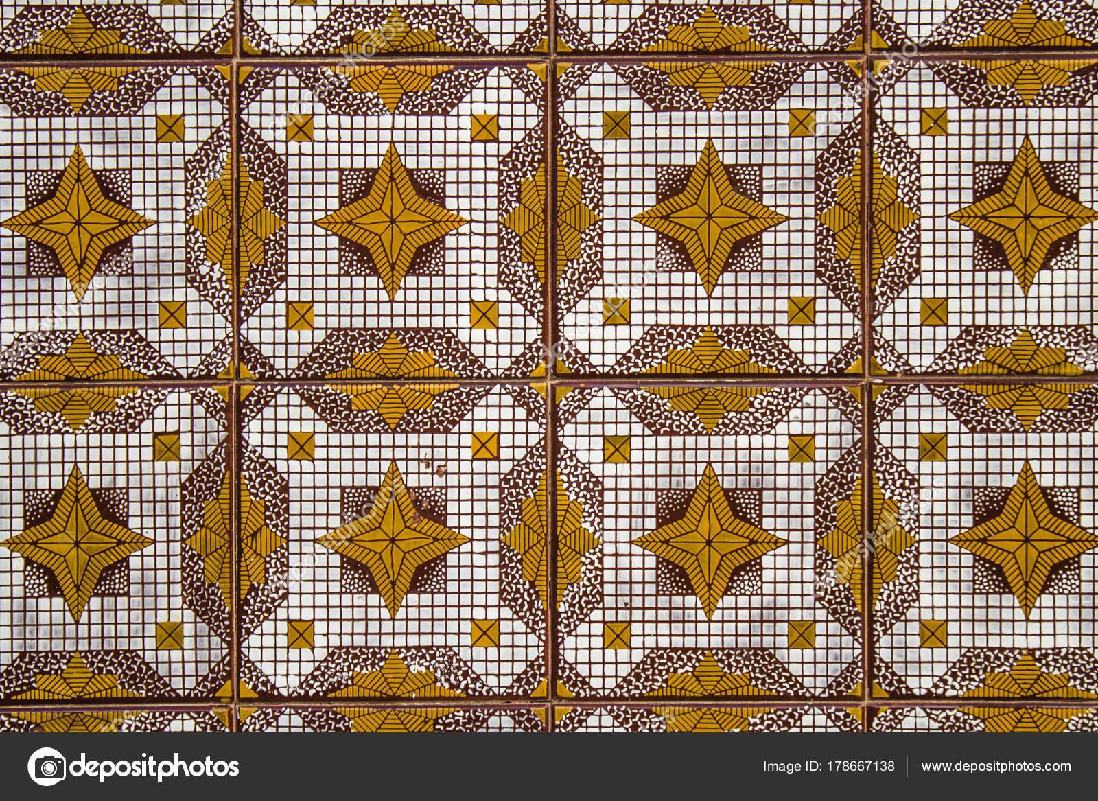 Ornamento variopinto piastrelle stile marocchino arabo portoghese