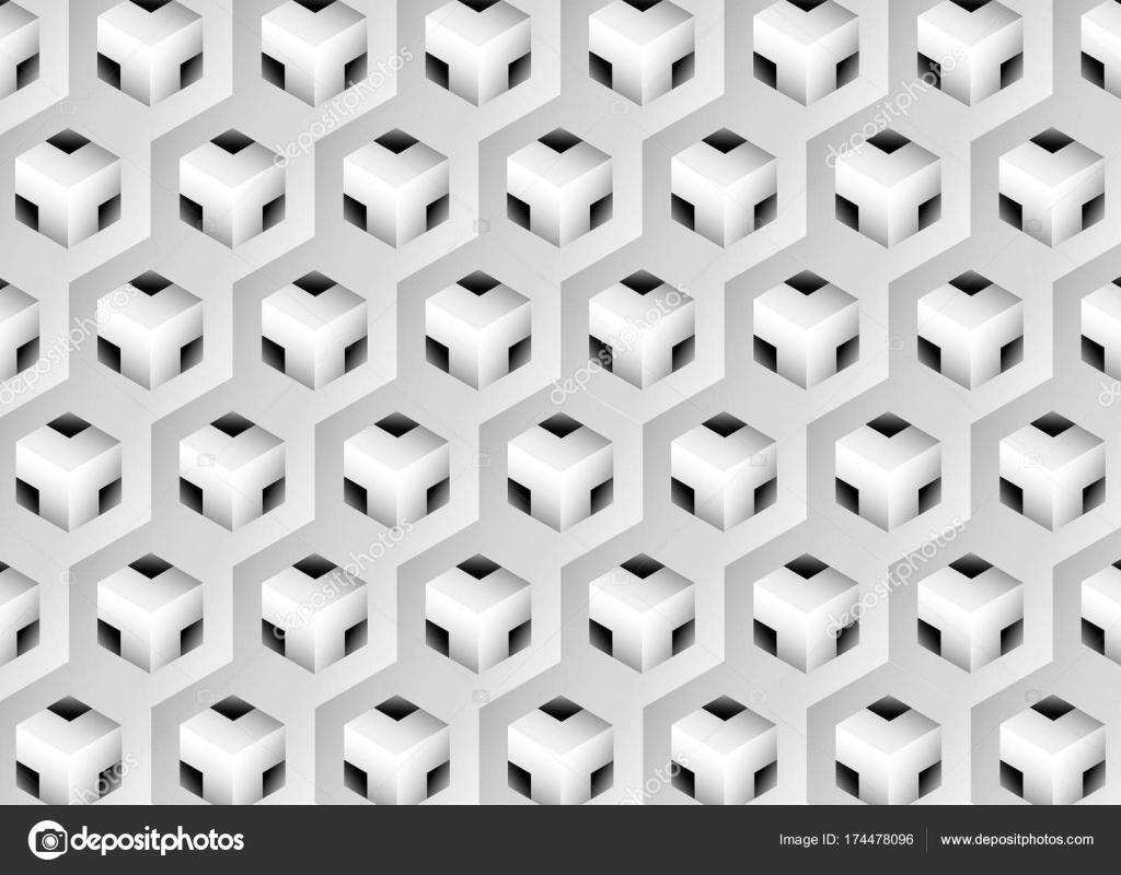 3 d の立体幾何学模様 - イラスト、壁紙、背景、パターン、抽象的な