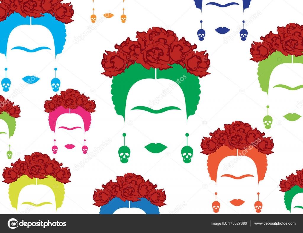 Frida kahlo Stock Vectors, Royalty Free Frida kahlo Illustrations ...