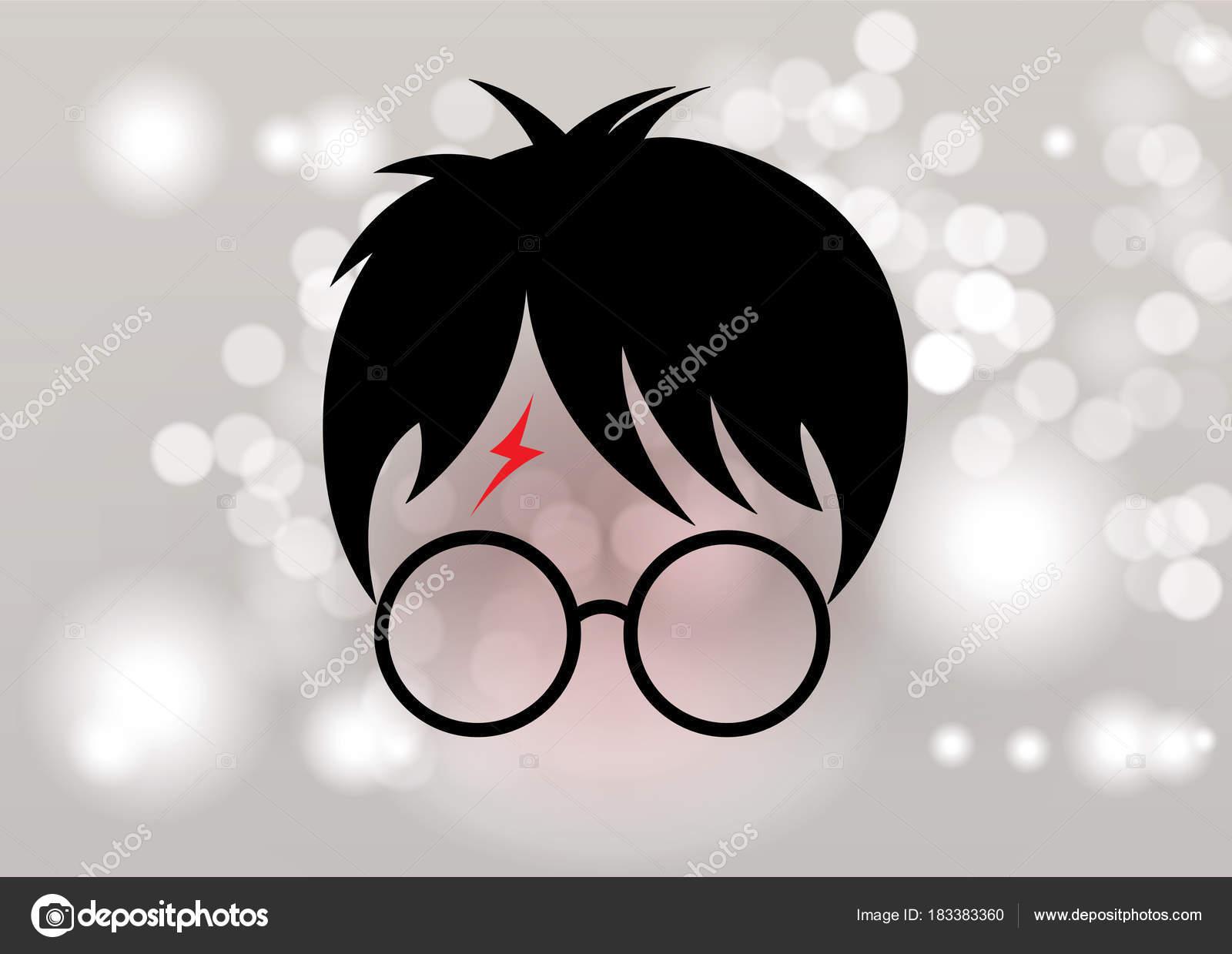 Vector Sombrero Harry Potter Icono De Potter Dibujos Animados