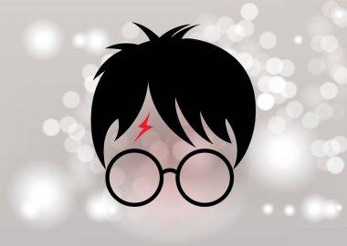 Potter cartoon icon, minimal style vector
