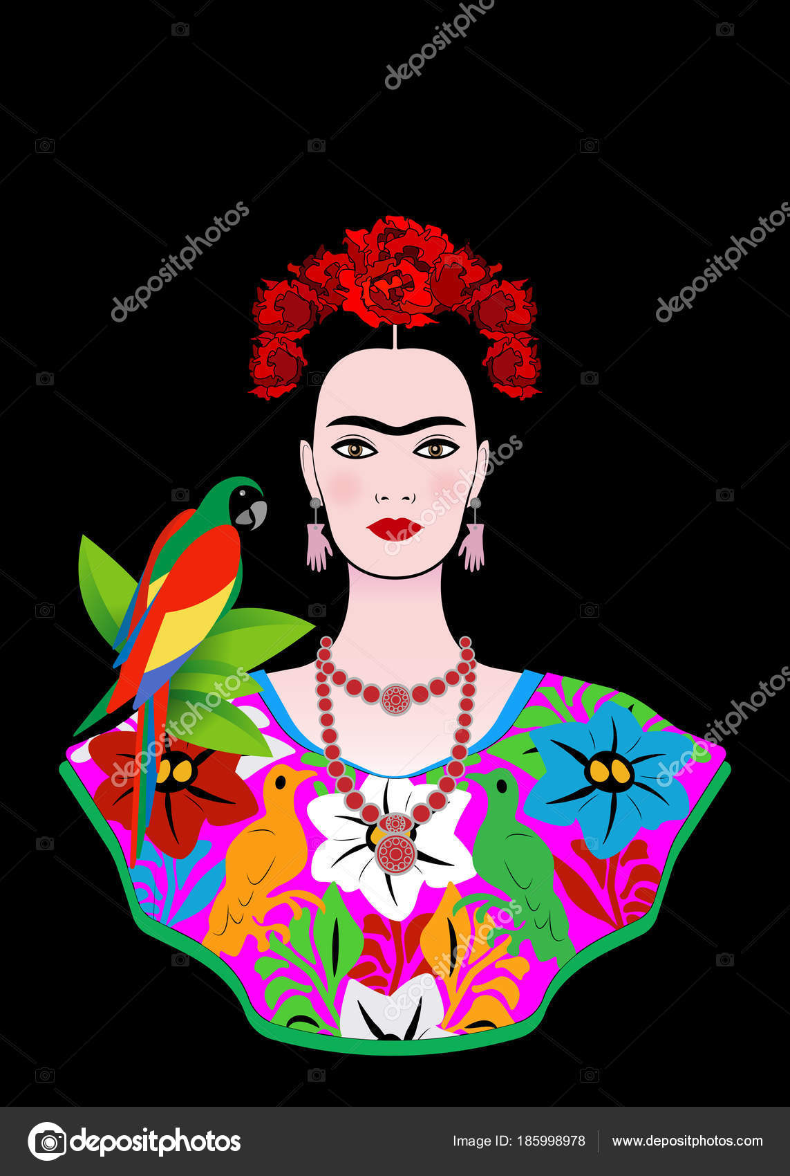 4df81f761a Imágenes  catrinas mexicanas vestidas
