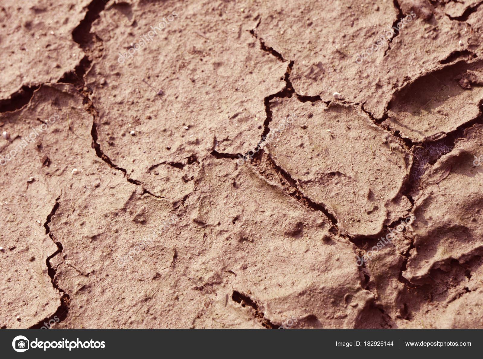 Kleine Risse Bodentexturen Stockfoto C Baon85 182926144