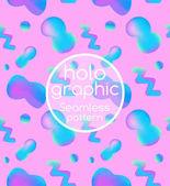 Abstraktní jasné holografické vzor