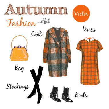 Autumn classic fashion collection