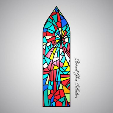 colored Stained glass