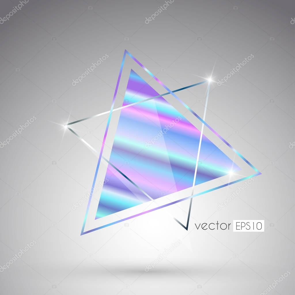 design of colored holographic print