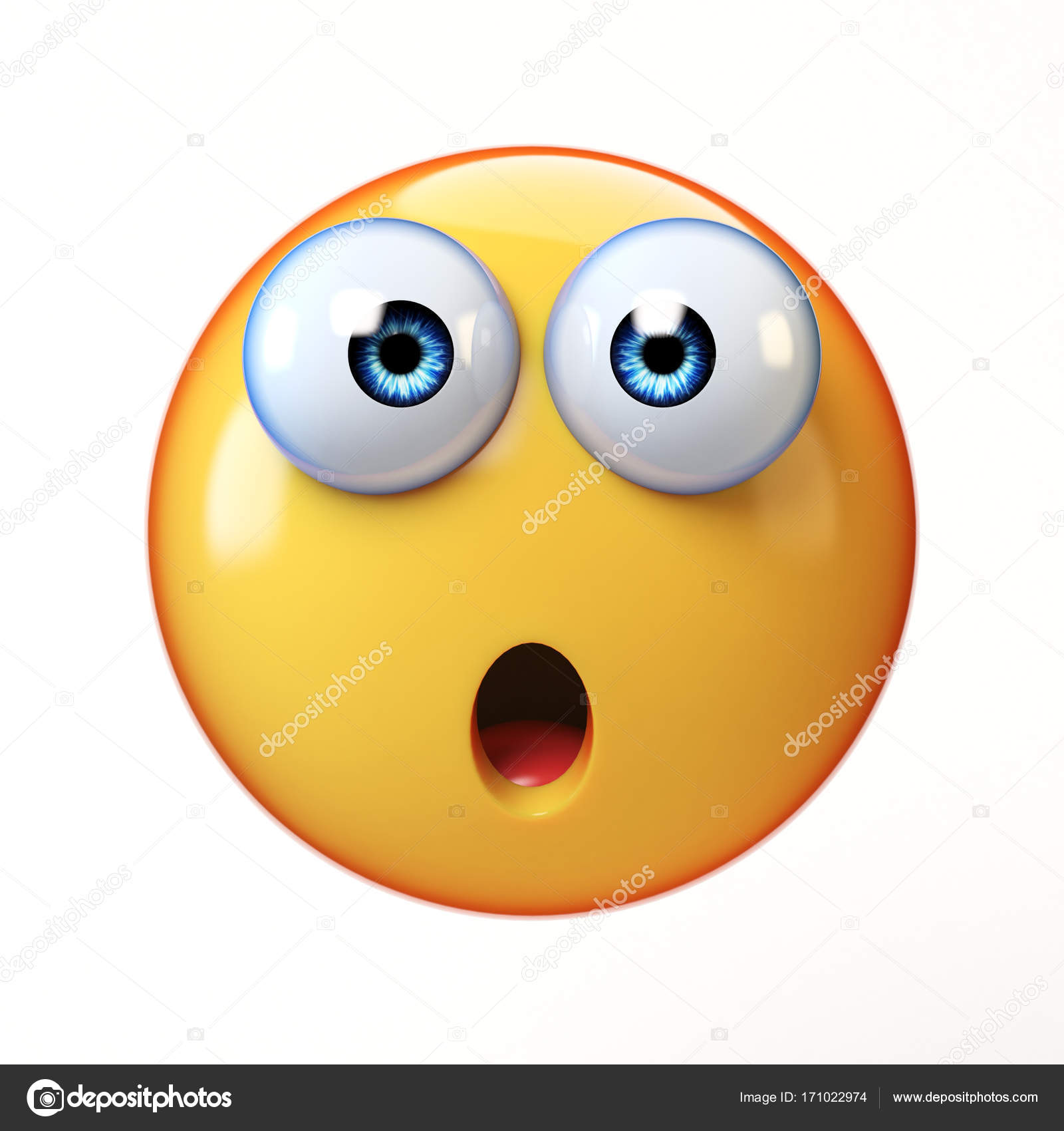 Wall To Wall Stickers Shocked Emoji Www Pixshark Com Images Galleries With A