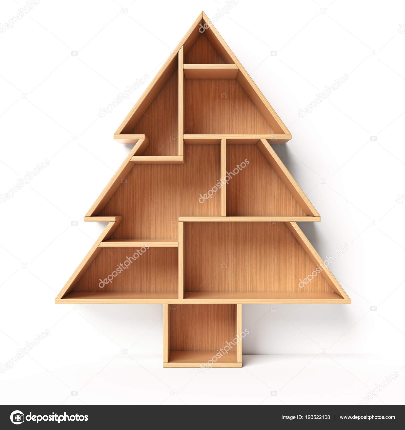 Bookshelves In The Shape Of Christmas Tree Xmas Present Book Shelf Concept 3d Rendering Photo By Koya979