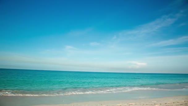 Splendida vista sullisola di Eagle Beach di Aruba. Caraibi. Priorità bassa della bella natura. Lasso di tempo