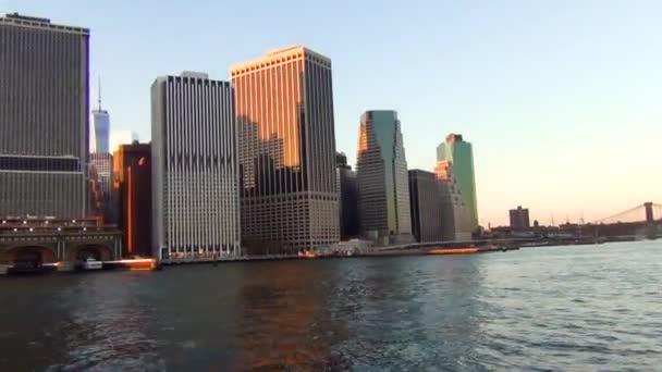 Úžasný pohled na Manhattanu v New Yorku