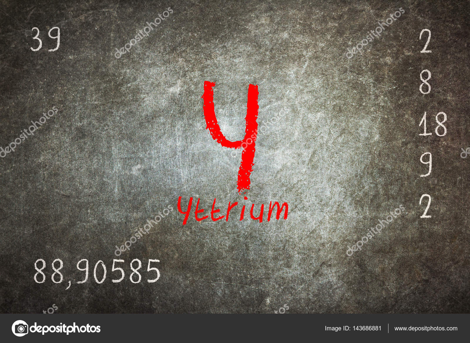Isolated blackboard with periodic table yttrium stock photo isolated blackboard with periodic table yttrium stock photo urtaz Images