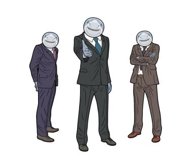 bad guys in suits