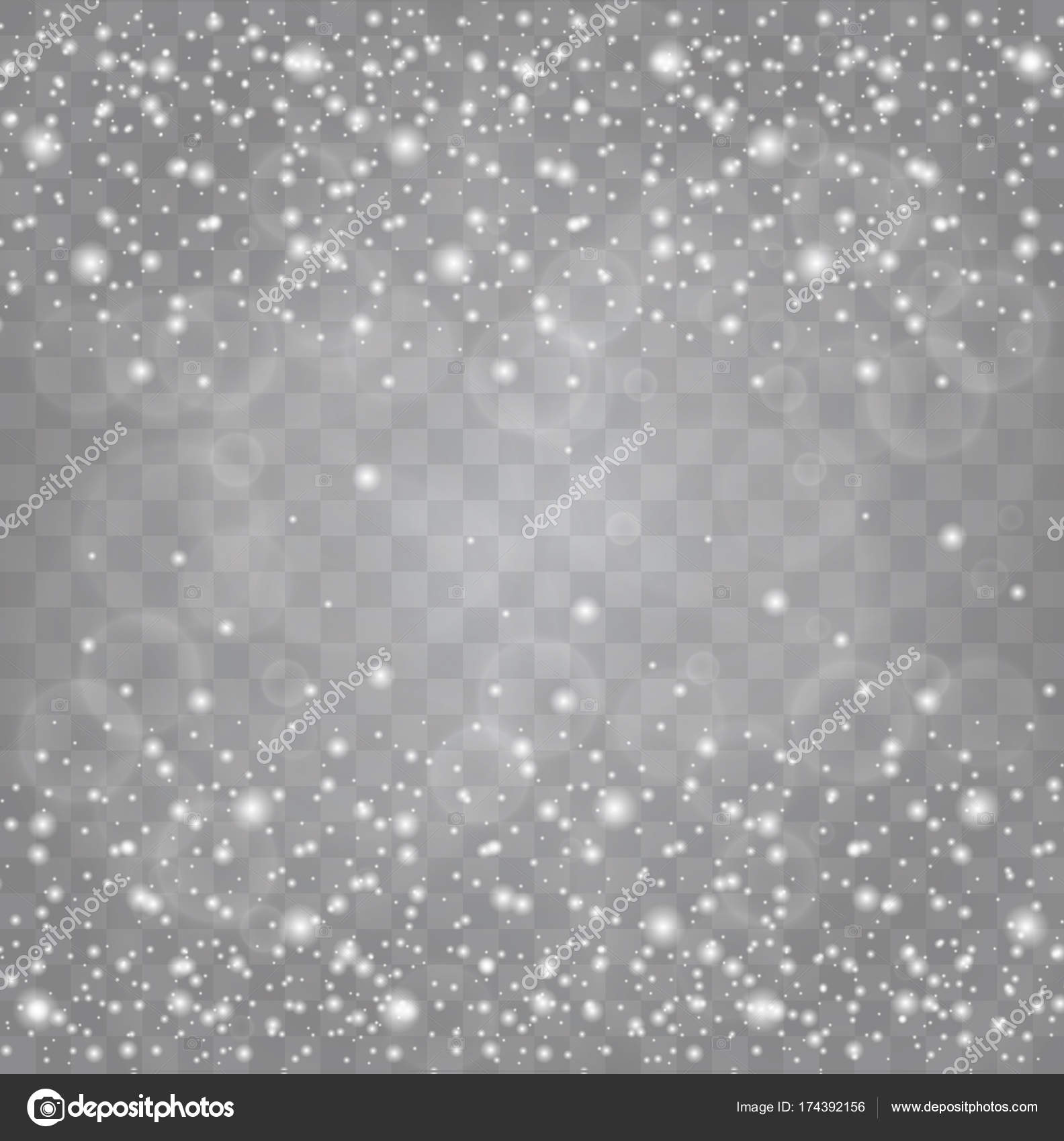 Weiße Funken und goldene Sterne glitzern besonderen Lichteffekt ...