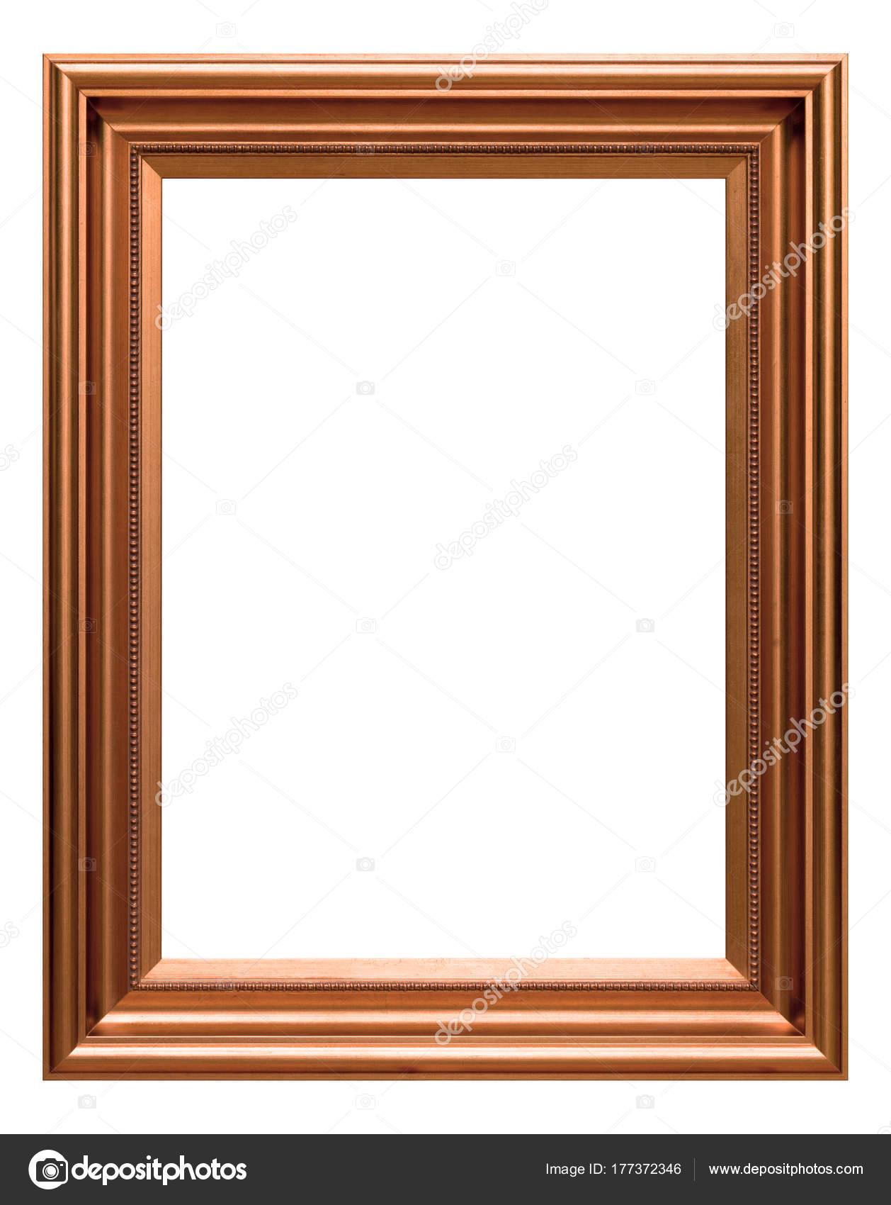 Antique copper frame — Stock Photo © opasstudio #177372346