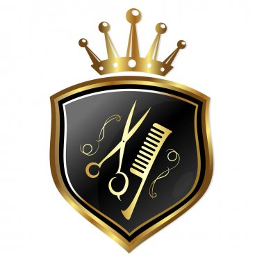 Emblem for hairdressers