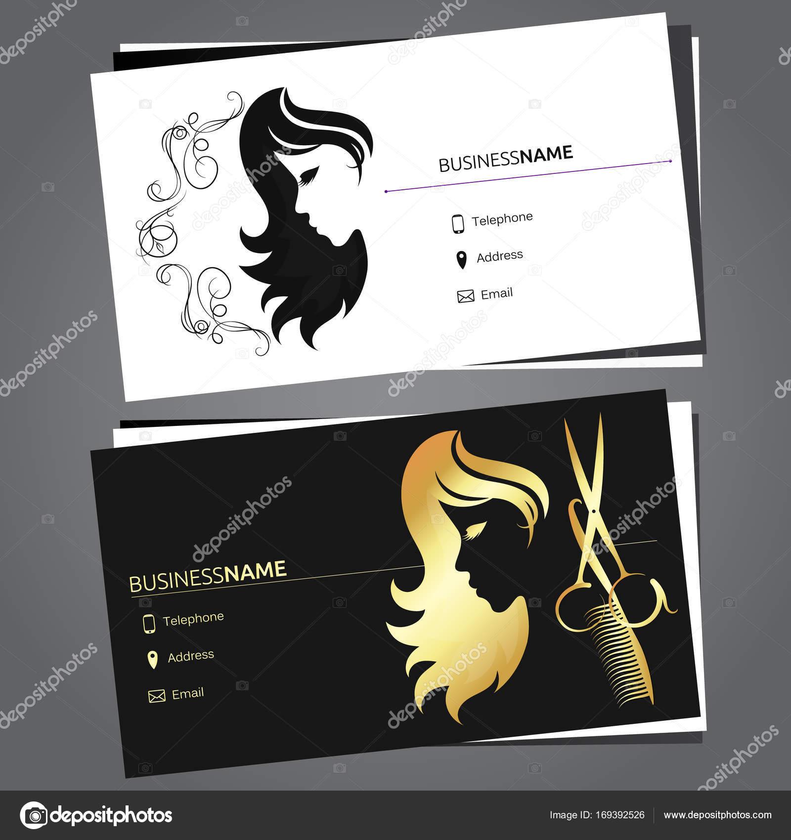 Business card for beauty salon stock vector john1279 169392526 business card for beauty salon and hairdresser vector by john1279 colourmoves